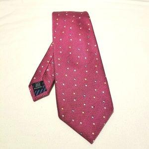 Charles Tyrwhitt Fuschia 100% Silk Tie